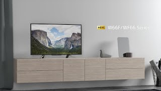 SONY BRAVIA NEW Model W660F 43Inch HDR FULL HD TV System Review