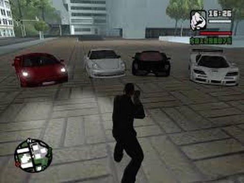 Gta San Andreas Lamborghini Arabası Ve Motoru Hilesi