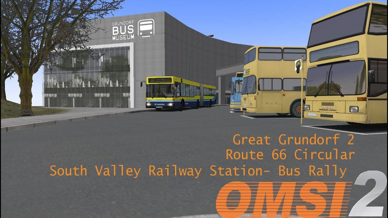 Omsi 2: Great Grundorf2 Bus Rally Route 66 Hamburg 1999 ...