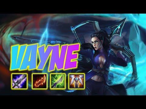 Vayne Montage 105 - Vayne ADC April - Troll Or Afk
