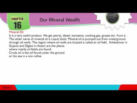 Explore Social,Class 04 ,16  Our Mineral Wealth