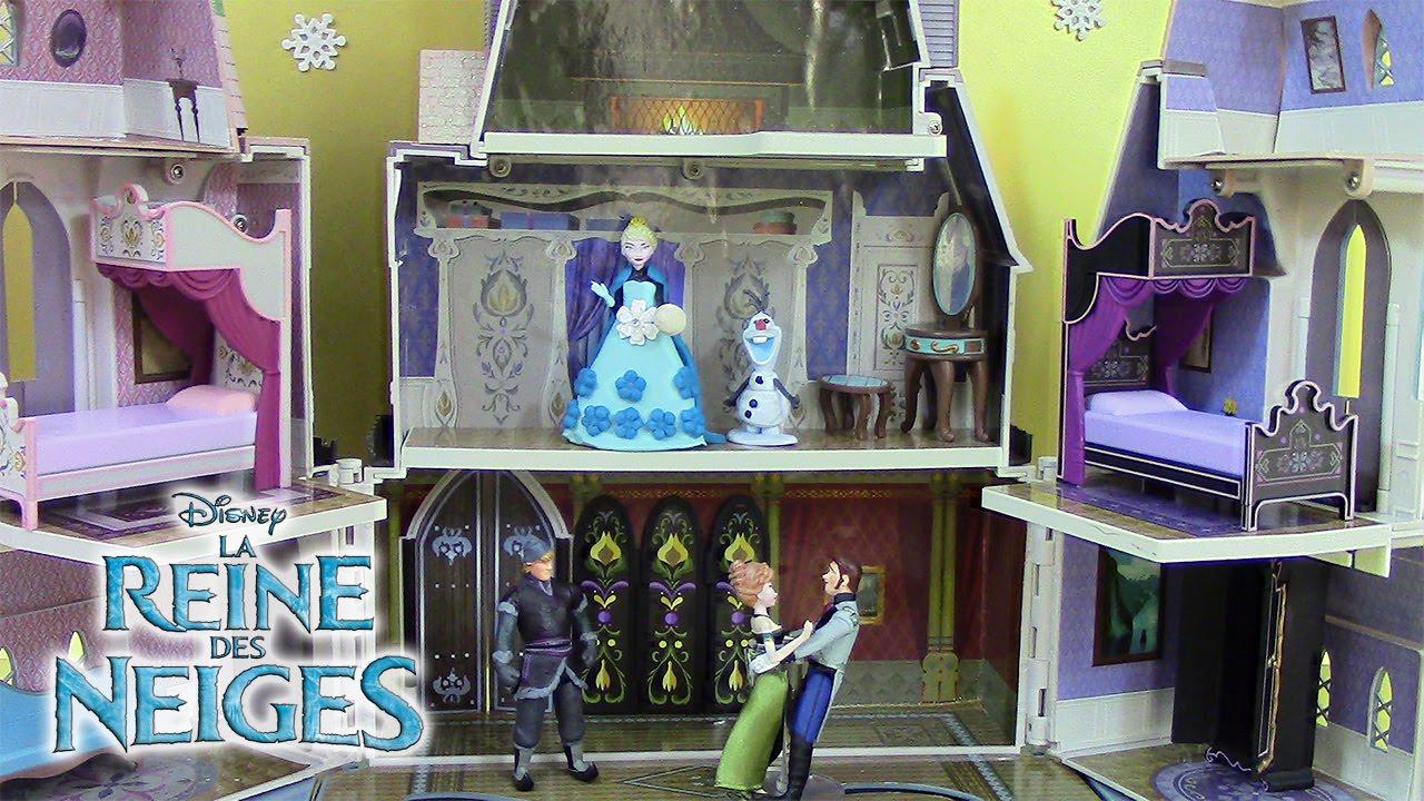 ch teau reine des neiges jouets frozen castle of arendelle. Black Bedroom Furniture Sets. Home Design Ideas