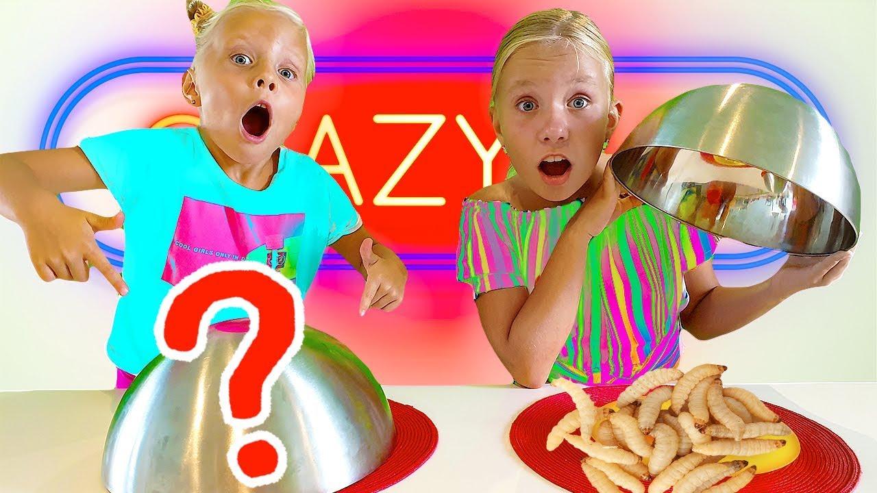 Обычная ЕДА ПРОТИВ БЭД БАР #2 / КреЙзи БАР / food challenge