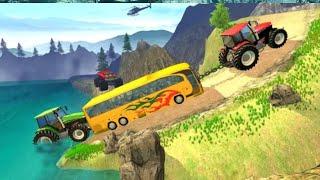 Tractor pull simulator drive: tractor game 2021 screenshot 2