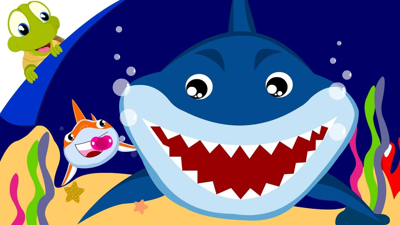 Baby Shark Song Animal Songs With Lyrics Youtube