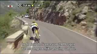 Fabian Cancellara, een meester in het dalen