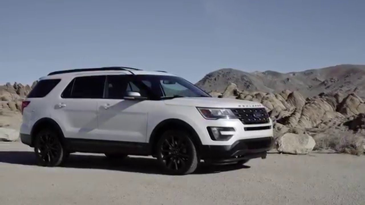 2017 ford explorer xlt with sport appearance package youtube. Black Bedroom Furniture Sets. Home Design Ideas