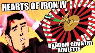 Hearts Of Iron 4 COUNTRY ROULETTE - COMPLETE MADNESS
