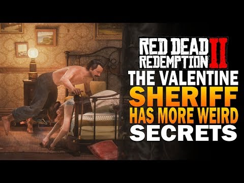 The Valentine Sheriff Has Mmore Crazy Secrets! Red Dead Redemption 2 Secrets thumbnail