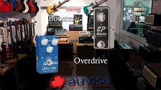Ordenar pedales guitarra: Overdrive y booster Auvisa