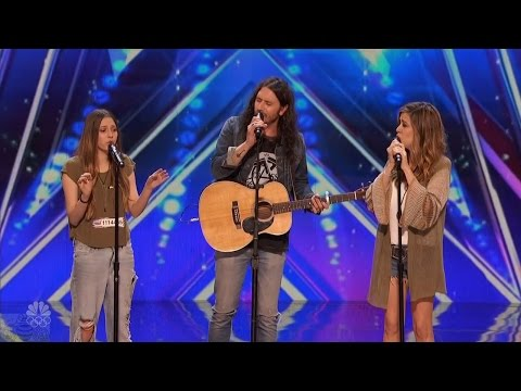Thumbnail: America's Got Talent 2016 Edgar A Family Singing Trio Full Audition Clip S11E02