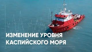 Изменение уровня Каспийского моря