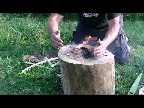 Testing the  Poplar Bow Drill Set from Home Improvement Store Wood and an unusual shout Out