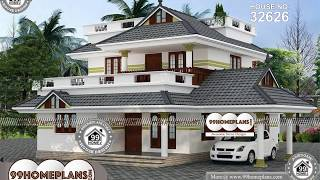 Indian House Design By 99HOMEPLANS COM[ Esp: M108 ]