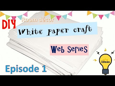 diy-|-home-decor-with-white-paper-|-budget-decor-ideas-|-paper-crafts-|-episode-1