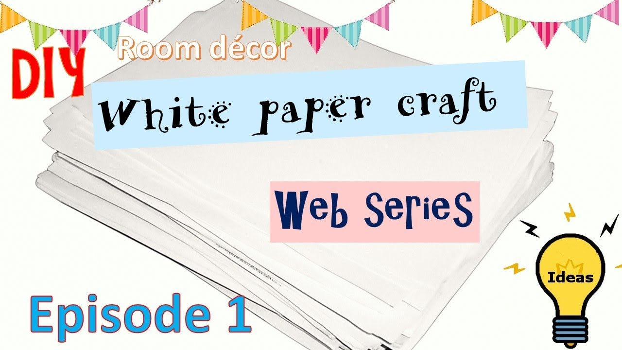 diy home decor with white paper budget decor ideas paper