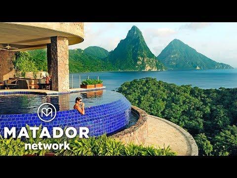 Magic Spot: St. Lucia's Jade Mountain