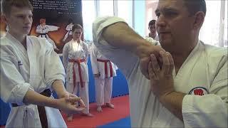 Мастер класс по самообороне