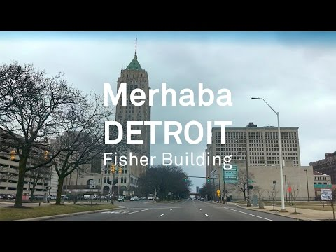 FISHER BUILDING / DETROIT TOURS
