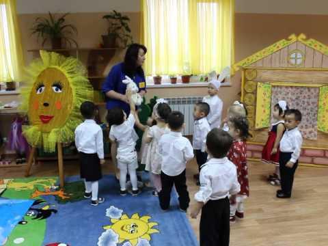 """Детский сад """"Бакыт-Актау"""", Открытое занятие в младшей группе """"Мишутка"""""""