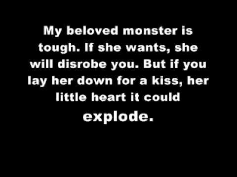 My Beloved Monster - Eels (With Lyrics on Screen)