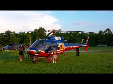 Eye in the Sky: Helicopter News Reporting with WBAL's Captain Roy Taylor
