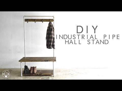 DIY Industrial Pipe Hall Stand | Modern Builds | EP. 37