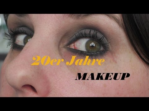 1920s Makeup  ★ Fab4ty Retro Style ★ 20er Jahre Look