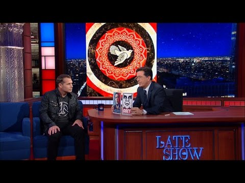 "Shepard Fairey Talks ""Hope"", ""Obey"" & Art"