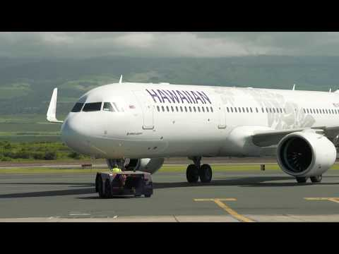 Hawaiian Airlines A321neo Inaugural Commercial Flight
