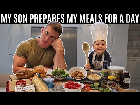 I let my son prepare my meals for a day
