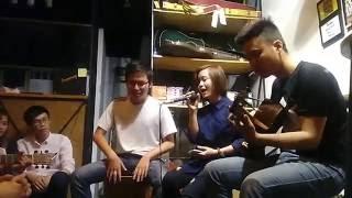 Thèm Yêu | Vicky Nhung | cover by Dương Thủy ft Hoàng Việt . Kuro Shiro Ken |  Thèm yêu guita