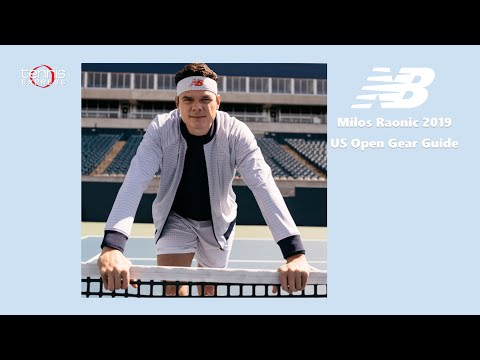 Milos Raonic 2019 US Open Gear Guide | Tennis Express