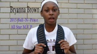 2016 tayshana chicken murphy ball n peace citywide showcase and all star game commercial