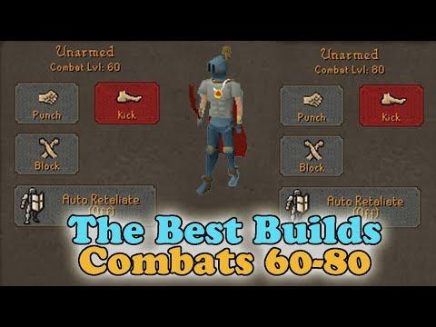Best Pking Builds (60 - 80 Combat) - OSRS