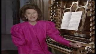 Gillian Weir - Sonata for two organs (Lucchinetti), Ottobeuren.