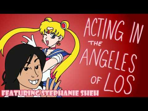 Acting in the Angeles of Los feat. Stephanie Sheh   Kirblog 10116