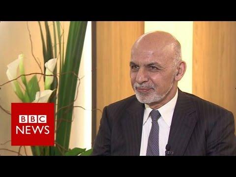 'We will bury Daesh' says Afghan President Ashraf Ghani - BBC News