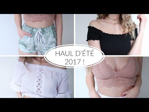 HAUL D'ÉTÉ 2017 | Firmoo, H&M, Zara, Forever 21 et plus!