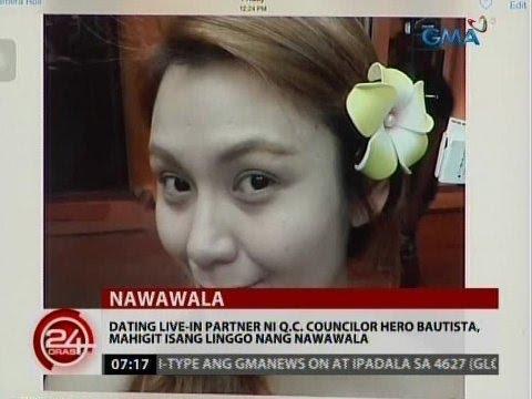 24 Oras: Dating Live-in Partner Ni Hero Bautista, Mahigit 1 Linggo Nang Nawawala