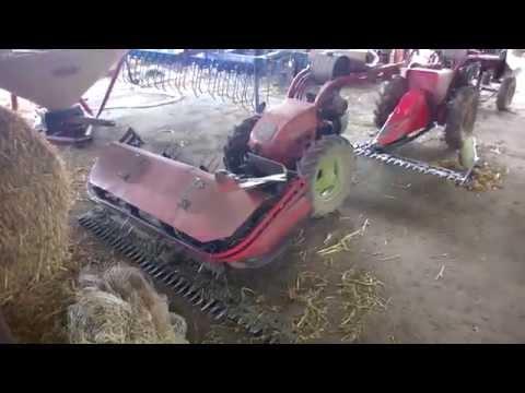 видео: Старые швейцарские мотоблоки на украинской ферме