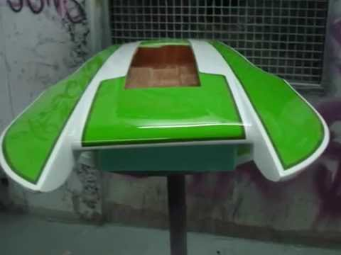 Hydro Boat Rc Hul 8th Scale Making Part 1
