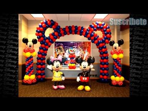 Ideas De Como Decorar Tu Fiesta Mickey Mouse