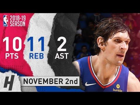 Boban Marjanovic Full Highlights Clippers vs Magic 2018.11.02 - 10 Pts, 2 Ast, 11 Reb, BEAST!