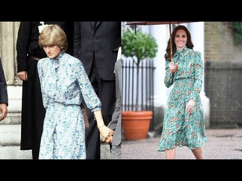 bb3bd3f3bfe There s a Hidden Meaning to the Dress Kate Middleton Wore to Honor Diana