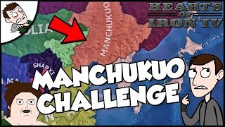 Manchukuo Tries to Defeat Japan Challenge Hearts of Iron4 hoi4
