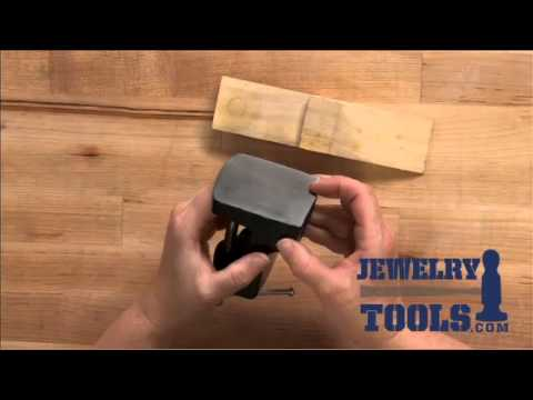 Bench Pin With Anvil - Jewelry Tools