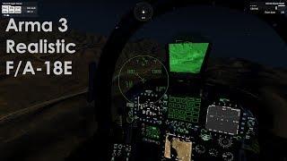 Arma 3 F/A-18E Clickable Cockpit
