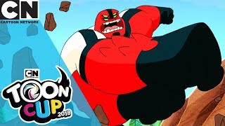 Toon Cup 2018 |  Ben 10 and Four Arms Crushes the Competition! | Cartoon Network