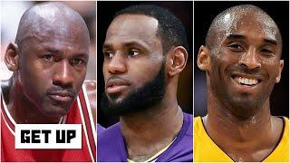 Where should MJ, LeBron and Kobe rank in NBA history? Kendrick Perkins & Bruce Bowen debate | Get Up